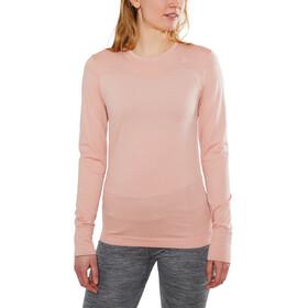Craft Fuseknit Comfort Camiseta interior manga larga cuello redondo Mujer, touch melange